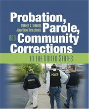 Cover of: Probation, Parole, and Community Corrections in the United States