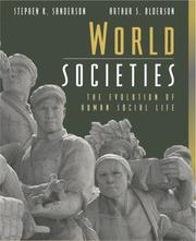 Cover of: World Societies