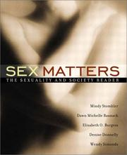 Cover of: Sex Matters