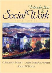 Cover of: Introduction to Social Work (9th Edition)