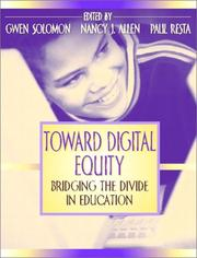 Cover of: Toward Digital Equity