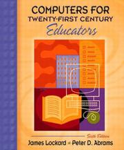 Cover of: Computers for Twenty-First Century Educators, Sixth Edition