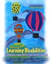 Cover of: Learning Disabilities
