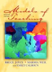 Cover of: Models of Teaching, Seventh Edition