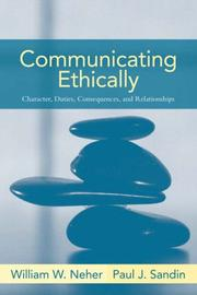 Cover of: Communicating Ethically