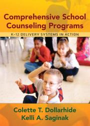 Cover of: Comprehensive School Counseling Programs