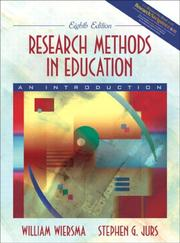 Cover of: Research Methods in Education