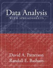 Cover of: Data Analysis with Spreadsheets (with CD-ROM)