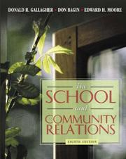 Cover of: School and Community Relations, The (8th Edition)