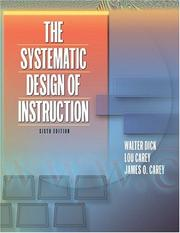Cover of: Systematic Design of Instruction, The (6th Edition)
