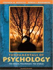 Cover of: Fundamentals of Psychology