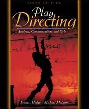 Cover of: Play Directing