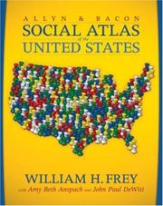 Cover of: The Allyn & Bacon Social Atlas of the United States