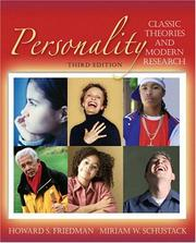 Cover of: Personality