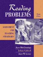 Cover of: Reading Problems