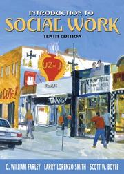 Cover of: Introduction to Social Work (10th Edition)