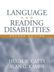 Cover of: Language and Reading Disabilities (2nd Edition)