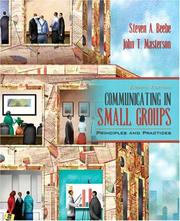 Cover of: Communicating in Small Groups