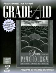 Cover of: Grade Aid Social Psychology Eleventh Edition with Other