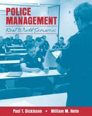 Cover of: Police Management