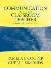Cover of: Communication for the Classroom Teacher (8th Edition)