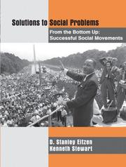 Cover of: Solutions to Social Problems from the Bottom Up