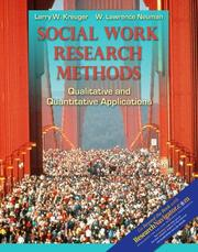 Cover of: Social Work Research Methods with Research Navigator