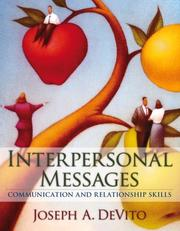 Cover of: Interpersonal messages