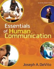 Cover of: Essentials of Human Communication