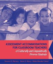 Cover of: Assessment Accommodations for Classroom Teachers of Culturally and Linguistically Diverse Students