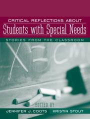 Cover of: Critical Reflections About Students with Special Needs