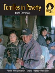 Cover of: Families in Poverty