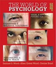Cover of: World of Psychology