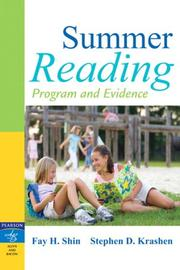 Cover of: Summer Reading