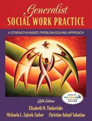 Cover of: Generalist Social Work Practice