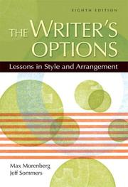 Cover of: The Writer's Options