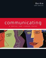 Cover of: Communicating