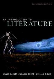 Cover of: Introduction to Literature, An (with Writing about Argument: The Craft of Argument) (14th Edition)