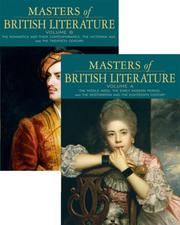 Cover of: Masters of British Literature, Volumes A & B package