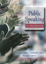 Cover of: Public Speaking Guidebook