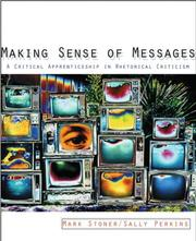 Cover of: Making Sense of Messages