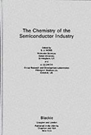 Cover of: Chemistry of the Semiconductor Industry
