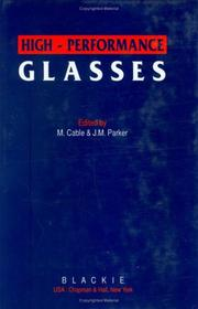 Cover of: High-Performance Glasses