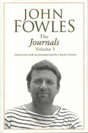 Cover of: Journals of John Fowles, The