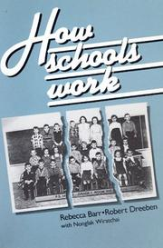 Cover of: How Schools Work