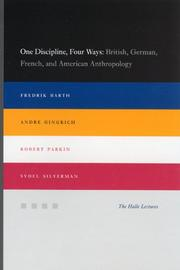 Cover of: One Discipline, Four Ways