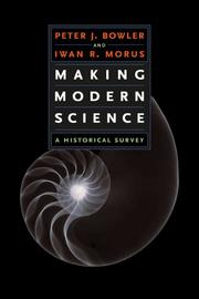 Cover of: Making Modern Science