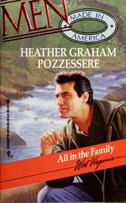 Cover of: All in the Family (Men Made in America Series)
