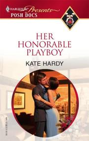 Cover of: Her Honorable Playboy