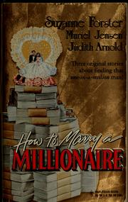 Cover of: How To Marry A Millionaire (Silhouette Special Products)
